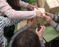 construcción de cajas